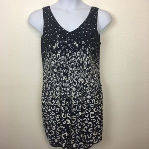 Navy and White Sundress with Pockets Size 10